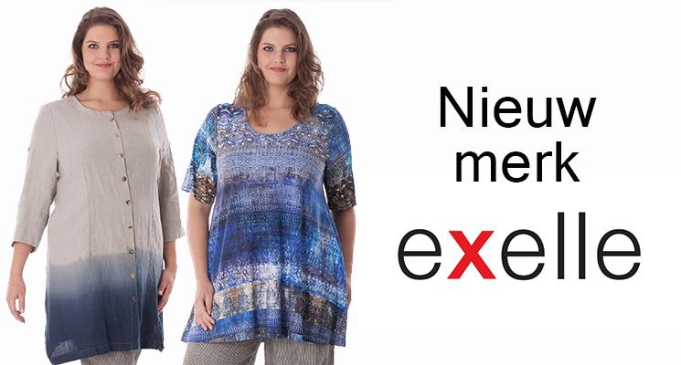 Nieuw merk bij Mateloos: Exelle