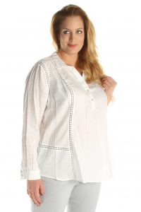 Open End grote maten blouse