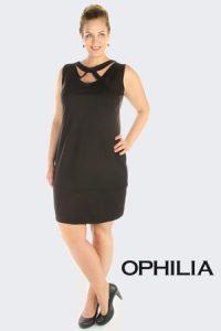 Ophilia grote maten jurk