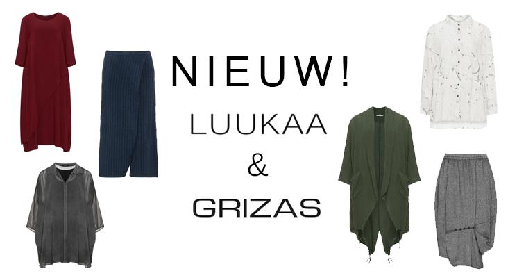Grizas en Luukaa: nieuwe merken bij Mateloos