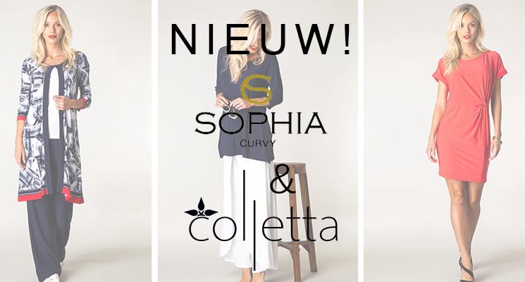 Sophia Curvy en Colletta: nieuwe merken bij Mateloos