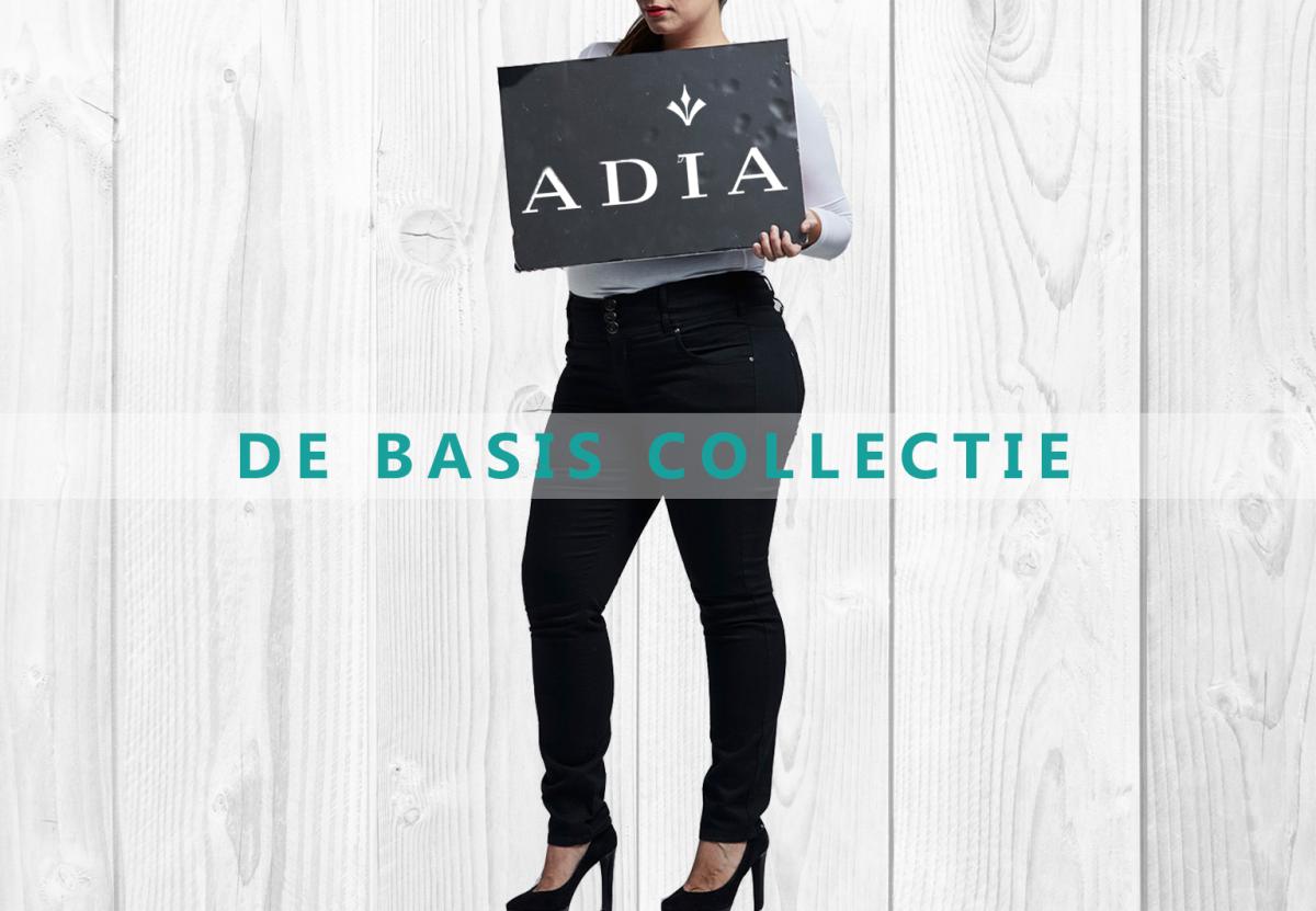 Adia basics onmisbaar in iedere garderobe